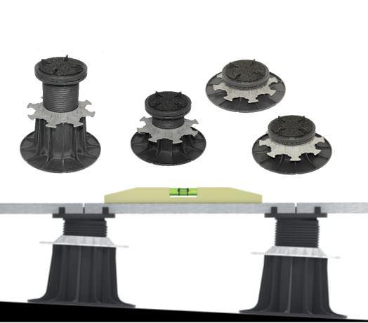 Porto – adjustable positioning foot for subfloors of stone and ceramic slabs